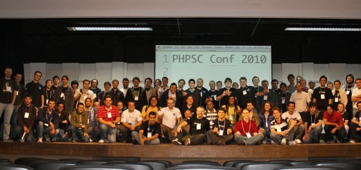 Foto Oficial da #phpSCconf 2010