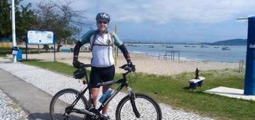 Pedal Praia Enseada - Chegada