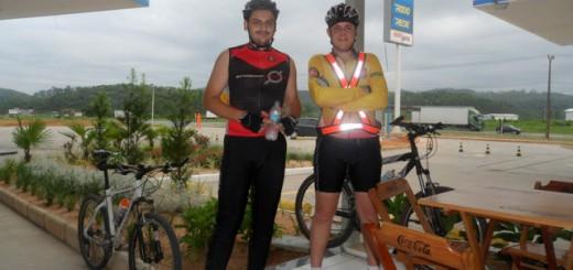 Pedal Jaraguá do Sul - Marcelo Rodrigo e Rodolfo Oliari