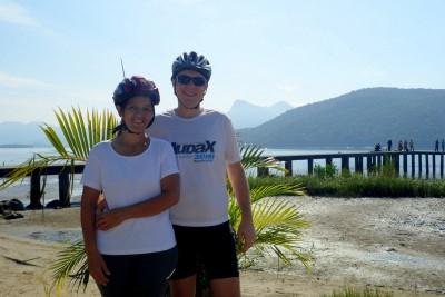 Meu amor, minha companheira de pedal