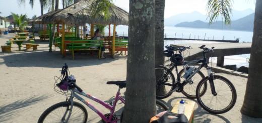 As bikes também descansaram