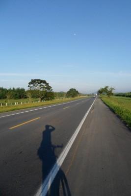 BR280 sentido Jaraguá do Sul