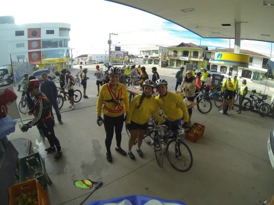 Amigos no Audax Balneario Camboriu 200km 2013