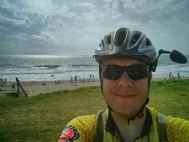 Marcelo Rodrigo na Praia de Barra Velha