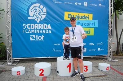 5ª Corrida e Caminhada IOT Corville 2014 - Marcelo Rodrigo Chegada