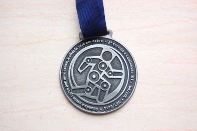 5ª Corrida e Caminhada IOT Corville 2014 - Medalha