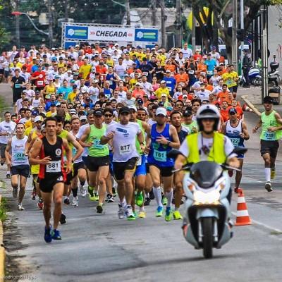 Largada 5ª corrida e caminhada IOT Corville 2014