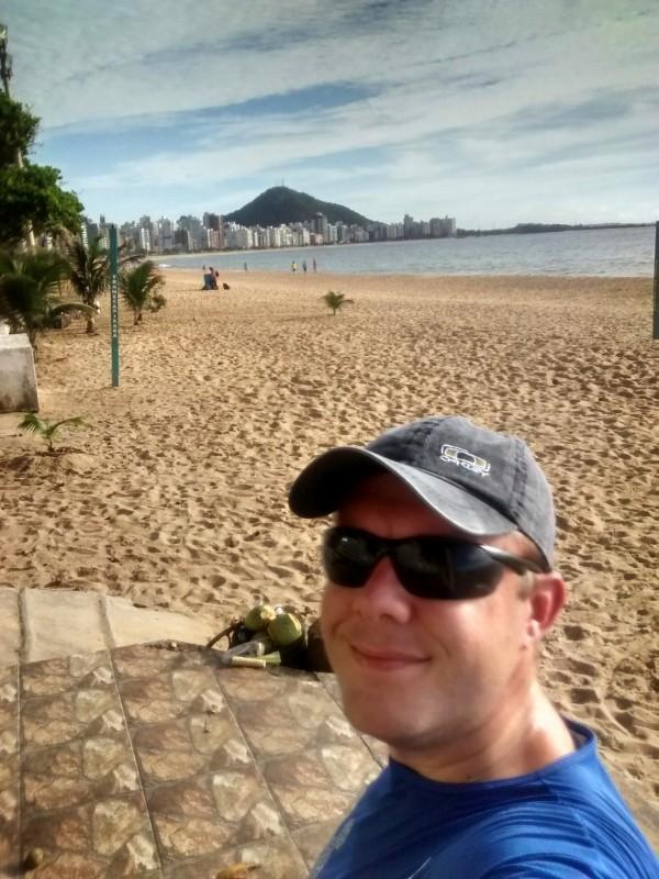 Voltando na Praia da Costa