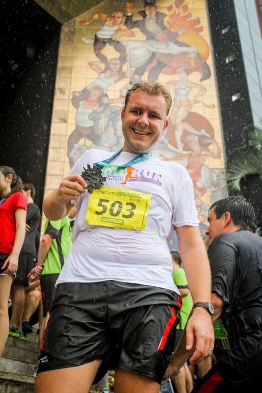 Circuito Brasil Corrida de Rua Joinville - Medalha 3