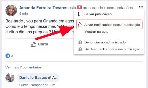 Como acompanhar posts no Facebook sem escrever AC